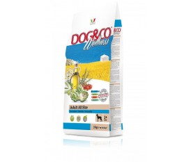 Dog&co Wellness Adult pesce e riso