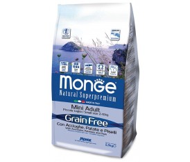 MONGE ACCIUGHE PATATE PISELLI ADULT MINI GRAIN FREE
