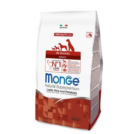 MONGE CANE AGNELLO RISO PATATE