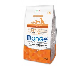 MONGE ANATRA RISO PATATE cane all breeds
