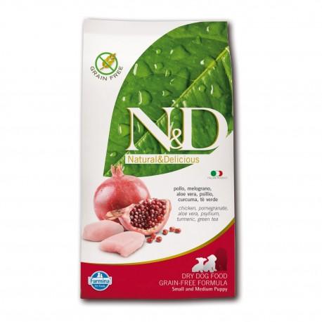 Farmina N&D Pollo e Melograno per cucciolo piccolo e medio