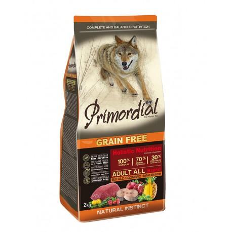 PRIMORDIAL GRAIN FREE ADULT BUFALO E SGOMBRO