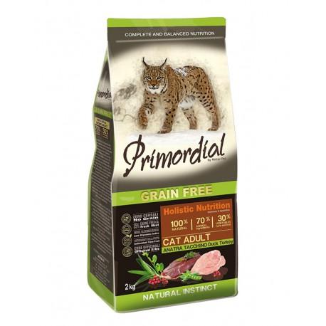 PRIMORDIAL GRAIN FREE CAT ADULT ANATRA E TACCHINO