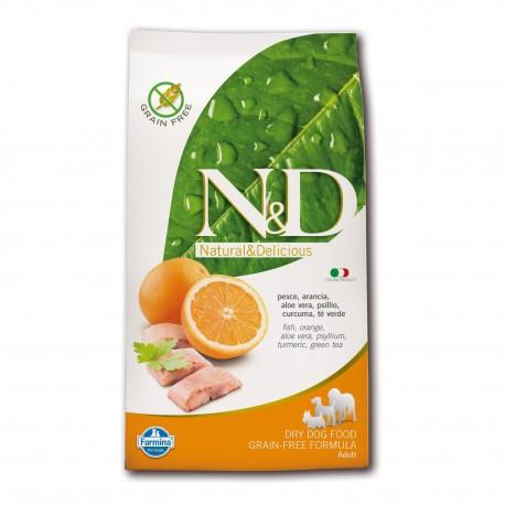 Farmina N&D Pesce e Arancia per adulto