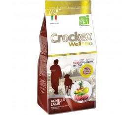 CROCKEX WELLNESS AGNELLO E RISO MINI ADULT