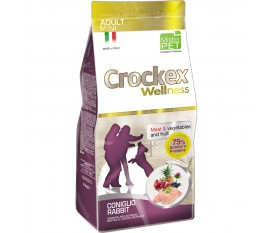 CROCKEX WELLNESS MINI ADULT CONIGLIO E RISO