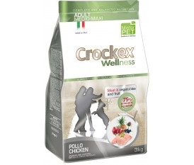 CROCKEX WELLNESS POLLO E RISO ALL BREEDS