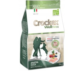 CROCKEX WELLNESS ANATRA RISO ALL BREEDS