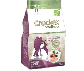 CROCKEX WELLNESS CONIGLIO E RISO ALL BREEDS