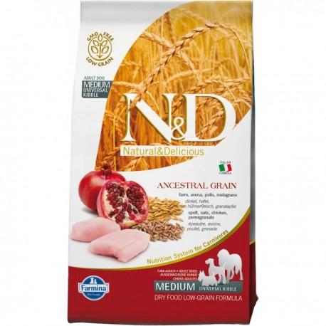 Farmina N&D LG Pollo e Melograno per adulto