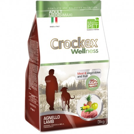 CROCKEX WELLNESS AGNELLO E RISO MEDIUM E MAXI