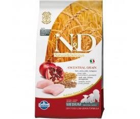 N&D LOW GRAIN PUPPY POLLO PESCE MELOGRANO FARMINA