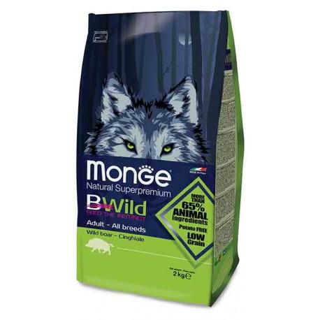 MONGE CANE BWILD ADULT CINGHIALE