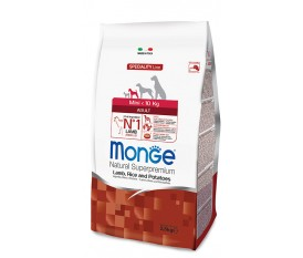 MONGE CANE MINI AGNELLO RISO PATATE