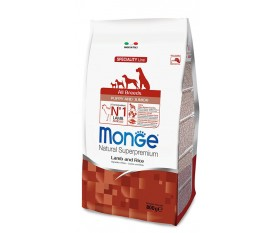 Monge PUPPY ALL BREEDS AGNELLO RISO