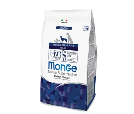 MONGE MEDIUM ADULT POLLO E RISO