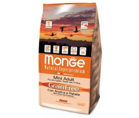 MONGE ANATRA PATATE GRAIN FREE MINI ADULT