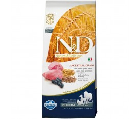 FARMINA N&D LOW GRAIN AGNELLO ARINGA MIRTILLO CANE MEDIUM