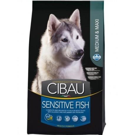 Farmina Cibau sensibile al pesce per adulto medio e grande