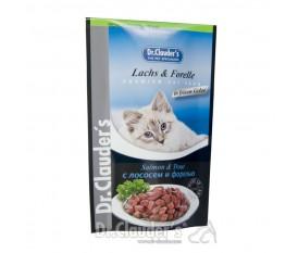 DR CLAUDER'S PEPITE SALMONE E TROTA CAT ADULT