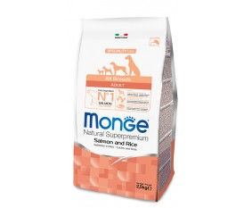 MONGE SALMONE RISO ALL BREEDS ADULT