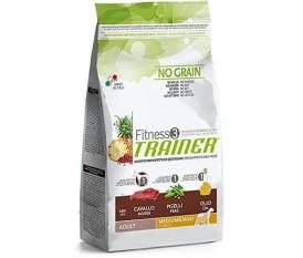 trainer fitness 3 medium&maxi cavallo-piselli-olio no grain