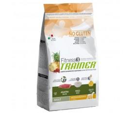 trainer fitness 3 medium & maxi anatra no gluten