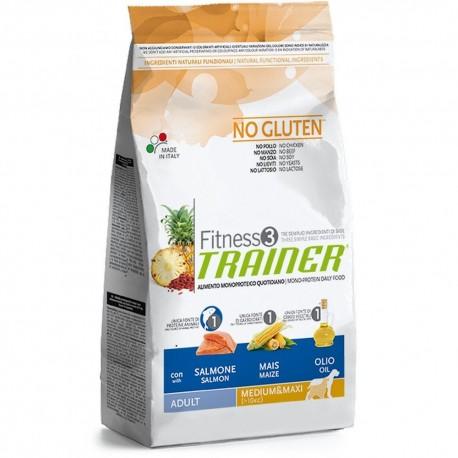 trainer fitness 3 medium & maxi salmone no gluten