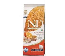 Farmina N&Dlow grain Merluzzo e Arancia per adulto maxi