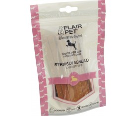 flair pet strips di agnello grain free natural